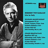 HERBERT VON KARAJAN live in ITALY de Helen Donath