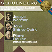 Schoenberg: Serenade, Op. 24, Lied der Waldtaube & Ode to Napoleon Buonaparte, Op. 41 de Pierre Boulez