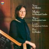 Wagner: Wesendonck-Lieder, WWV 91 - Mahler: Rückert-Lieder de Pierre Boulez