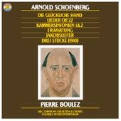 Schoenberg: Die Jakobsleiter, Erwartung, Op. 17, Die glückliche Hand, Op. 18, Chamber Symphonies Nos. 1 + 2 & Lieder, Op. 22 von Pierre Boulez