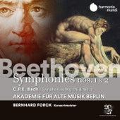 Beethoven: Symphonies Nos. 1 & 2 - C.P.E. Bach: Symphonies, Wq 175 & 183/17 by Akademie für Alte Musik Berlin