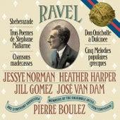 Ravel: Shéhérazade, 3 Poèmes de Stéphane Mallarmé, Chansons madécasses, Don Quichotte à Dulcinée & 5 Mélodies populaires grecques von Pierre Boulez