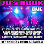 70's Rock - Live (Live) de Various Artists