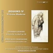 Brahms & Zimmermann: Orchestral Works (Live) by Reinhold Friedrich