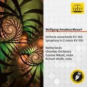 Mozart: Sinfonia concertante, K. 364 & Symphony No. 40, K. 550 de Gordan Nikolić