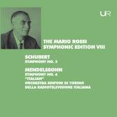 Schubert: Symphony No. 3, D. 200 - Mendelssohn: Symphony No. 4, Op. 90, MWV N 16 de Orchestra Sinfonica Nazionale della RAI di Torino