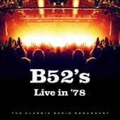 Live in '78 (Live) de The B-52's
