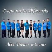 Mix Vienes y Te Vas de Orquesta la Diferencia