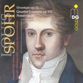 Spohr: Overture, Op. 12, Concerto, Op. 131 & Nonet, Op. 31 von Sebastian Weigle