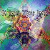 36 Urban Storms Peace by Rain Sounds and White Noise