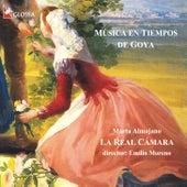 Mùsica en tiempos de Goya de Marta Almajano