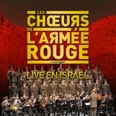 Live en Israël by Les Chœurs de l'Armée Rouge Alexandrov