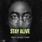 STAY ALIVE (COVID-19) (feat. Papiwizzy, Olawinkx, Rap Prince, Lola, Dolapo) by Rave Daddy