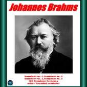 BRAHMS: Symphony No. 1, No. 2, No. 3, No. 4 by NBC Symphony Orchestra