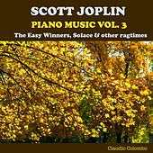 Scott Joplin: Piano Music, Vol. 3 - The Easy Winners, Solace & Other Ragtimes by Claudio Colombo
