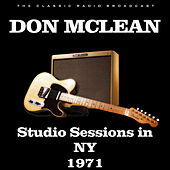 Studio Sessions in NY 1971 (Live) de Don McLean