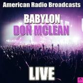 Babylon (Live) de Don McLean