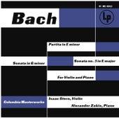 J.S. Bach: Violin Sonatas E Minor and E Major - C.P.E. Bach: Violin Sonata in G Minor, H. 542 von Isaac Stern
