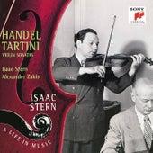 Händel: Sonata in D Major, Op. 1, No. 3 - Tartini: Violin Sonata in G Minor, Op. 1, No. 10 von Isaac Stern