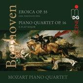 Beethoven: Eroica, Op. 55 & Piano Quartet, Op. 16 von Mozart Piano Quartet