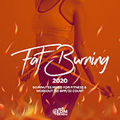 Fat Burning 2020: 60 Minutes Mixed for Fitness & Workout 150 bpm/32 Count by Hard EDM Workout
