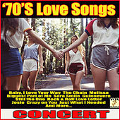 70's Love Songs Concert (Live) de Various Artists