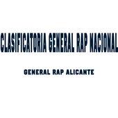 Clasificatoria General Rap Nacional by General Rap Alicante