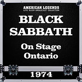 On Stage Ontario 1974 (Live) de Black Sabbath
