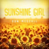 Sunshine Girl de Don Mescall