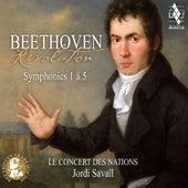 Beethoven: Révolution, Symphonies 1 à 5 by Jordi Savall