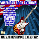 American Rock Anthems (Live) by Various Artists