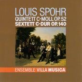 Spohr: Quintett C-Moll, Op. 52 & Sextett C-Dur, Op. 140 von The Ensemble Villa Musica