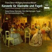 Mozart & Danzi: Konzerte für Klarinette und Fagott von Dieter Klöcker