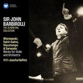 Wieniawski, Saint-Saëns, Vieuxtemps & Sarasate: Works for Violin and Orchestra von Jascha Heifetz