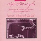 Wilhelm Furtwangler Conducts Hindemith and Stravinsky (1950-1953) von Wilhelm Furtwängler