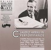 Claudio Arrau in Performance von Claudio Arrau