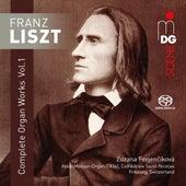 Liszt: Complete Organ Works, Vol. 1 by Zuzana Ferjencikova