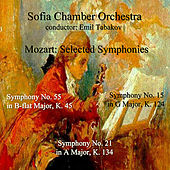 Mozart: Selected Symphonies by Sofia Chamber Orchestra