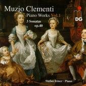 Clementi: 3 Sonatas, Op. 40 by Stefan Irmer