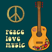 Peace, Love & Music de Various Artists