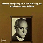 Brahms- Symphony No. 4 in E minor op. 98/Kodály- Dances of Galánta von Berliner Philharmoniker