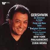 Gershwin: An American in Paris, Selections from Porgy and Bess & Cuban Overture di Zubin Mehta