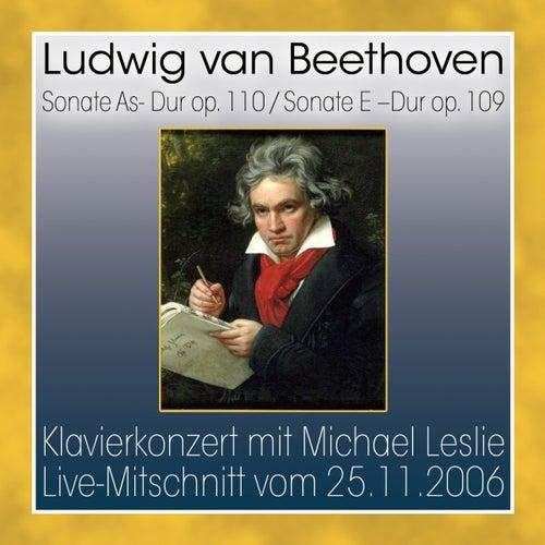 Sonate as-dur op. 110 / sonate e-dur op. 109 by Ludwig van Beethoven