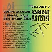 Genuine Jamaican Reggae, Ska & Rock Steady Music Vol. 1 by Various Artists