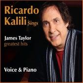 Ricardo Kalili Sings James Taylor - Voice & Piano de Ricardo Kalili