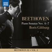 Beethoven 32, Vol. 2: Piano Sonatas Nos. 4-7 de Boris Giltburg