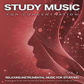 Study Music For Concentration: Relaxing Instrumental Music For Studying, Reading, Focus, Anxiety, Adhd and Calm Study Music For Relaxation and Music To Make You Smarter, Vol. 3 de Studying Music