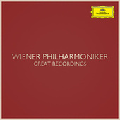 Wiener Philharmoniker - Great Recordings de Wiener Philharmoniker