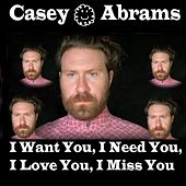 I Want You, I Need You, I Love You, I Miss You by Casey Abrams