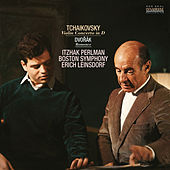 Tchaikovsky: Violin Concerto in D Major, Op. 35 & Dvorák: Romance in F Minor, Op. 11 de Itzhak Perlman